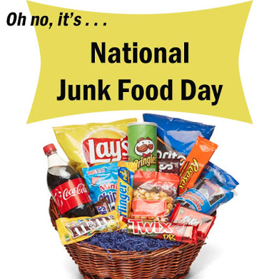Celebrating National Junk Food Day!<br />