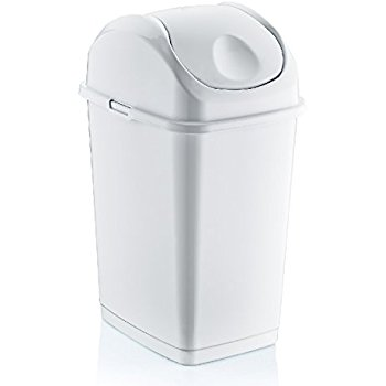 Which is the ugliest trash can? | 1