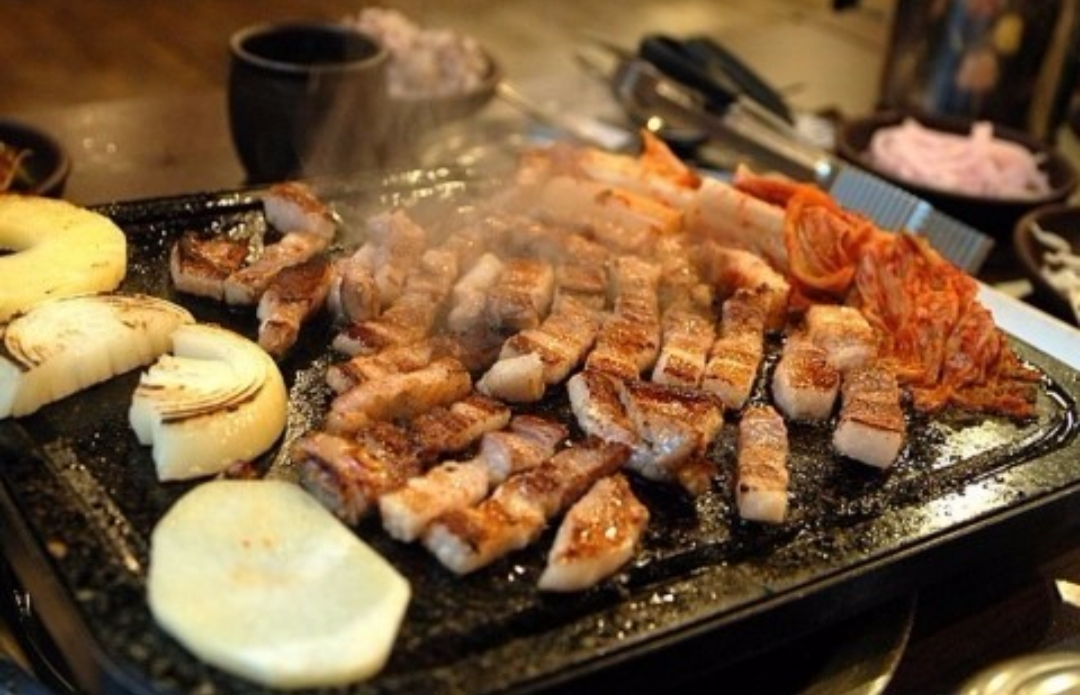 Have you tried korean food? what is your favorite korean food? | pork belly, bacon
