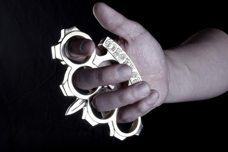 You have to kill a Zombies. This is the only weapon. | Brass Knuckles