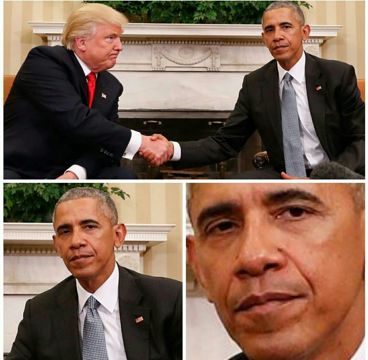 Which is Donald Trump's best Handshake of four? | With Obama