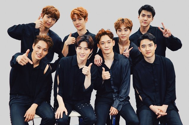 Which of these is your favorite K-Pop Boy group? | EXO