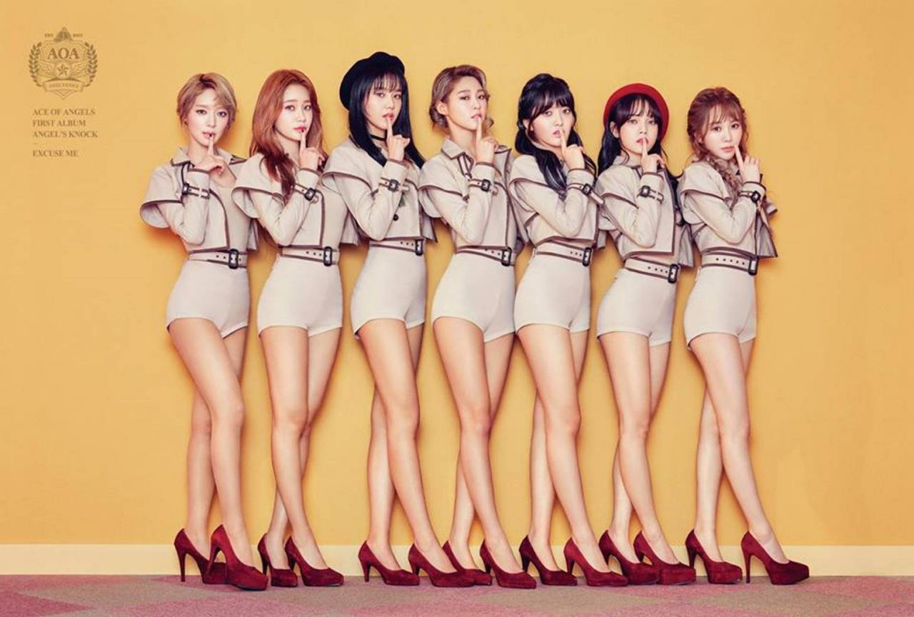Which of these is your favorite K-Pop Girl group? | AOA