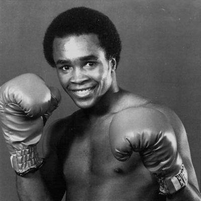 Photo of Sugar Ray Leonard